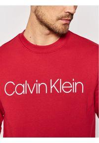 Calvin Klein Bluza Logo K10K102724 Czerwony Regular Fit. Kolor: czerwony