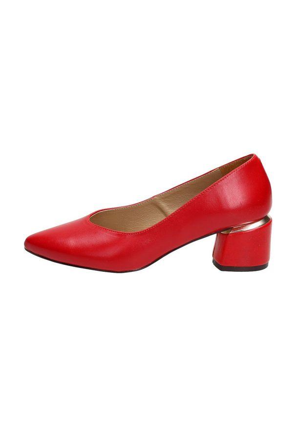 Czerwone czółenka Suzana klasyczne