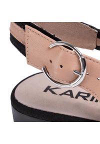 Brązowe sandały Karino na co dzień, casualowe