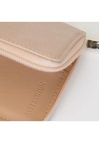 Wittchen - Damski portfel z tłoczonej ekoskóry na suwak. Materiał: skóra ekologiczna #3