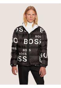 Czarna kurtka puchowa BOSS