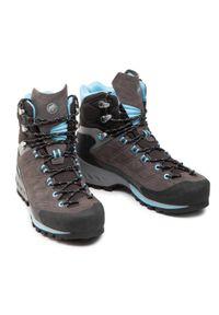 Szare buty trekkingowe Mammut
