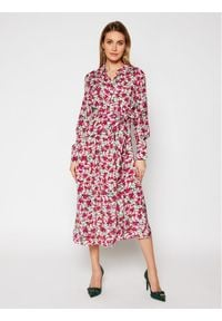 Guess Sukienka koszulowa W1RK90 WDDE0 Kolorowy Regular Fit. Wzór: kolorowy. Typ sukienki: koszulowe