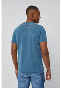 medicine - Medicine - T-shirt Licence Mix. Kolor: niebieski. Wzór: nadruk