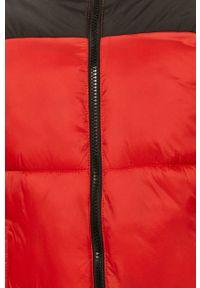 Czerwona kurtka Jack & Jones bez kaptura, casualowa, na co dzień