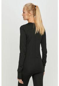 Czarna bluzka z długim rękawem Craft sportowa