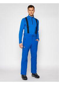 Niebieskie spodnie sportowe Descente narciarskie