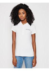 Biała koszulka polo TOMMY HILFIGER polo
