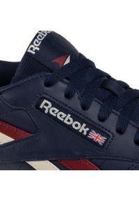 Niebieskie buty sportowe Reebok z cholewką