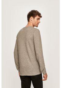 Szary sweter Blend z okrągłym kołnierzem, na co dzień #5