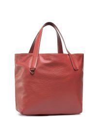Czerwona torebka klasyczna Coccinelle klasyczna, skórzana