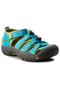 Niebieskie sandały keen