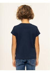 Emporio Armani T-Shirt 8N3T03 3J08Z 0933 Granatowy Regular Fit. Kolor: niebieski