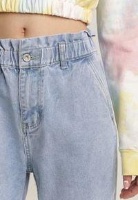 Renee - Jasnoniebieskie Jeansy Mom Fit Tisawa. Kolor: niebieski #5