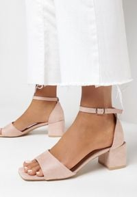 Born2be - Różowe Sandały Crialodia. Kolor: różowy