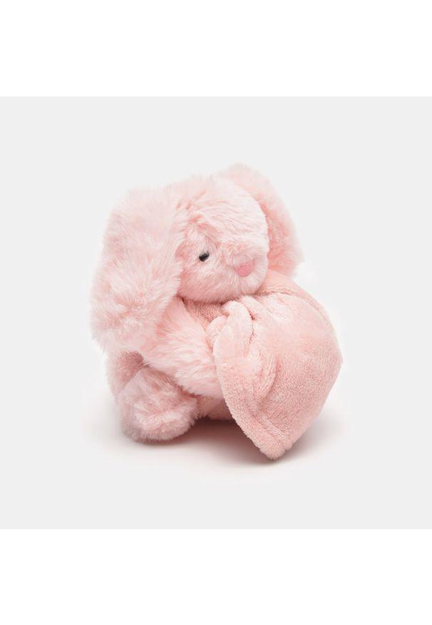 Sinsay - Przytulanka dla niemowlaka - Różowy. Kolor: różowy