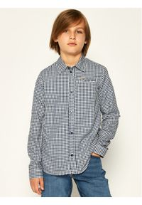 Niebieska koszula Guess #4