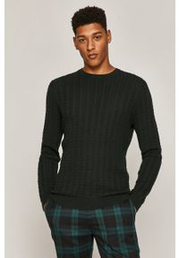 Sweter medicine casualowy, z długim rękawem, na co dzień, długi