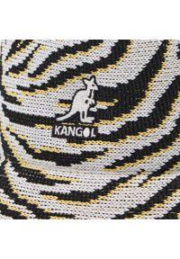 Kangol - Kapelusz KANGOL - Bucket Carnival Casual K3411 White Zebra WZ189. Kolor: biały. Materiał: poliester, materiał. Wzór: motyw zwierzęcy. Styl: casual