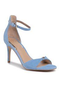 Niebieskie sandały Guess eleganckie