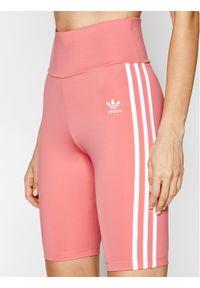 Różowe spodenki sportowe Adidas