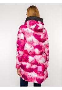 Różowy płaszcz zimowy Mr & Mrs Italy
