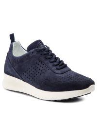 Niebieskie sneakersy Baldinini