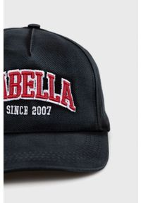 LABELLAMAFIA - LaBellaMafia - Czapka. Kolor: czarny. Wzór: aplikacja