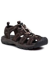 Brązowe sandały trekkingowe CMP na lato