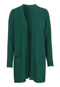 Zielony sweter Cellbes klasyczny, melanż