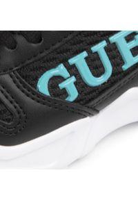 Czarne buty sportowe Guess z cholewką, na co dzień