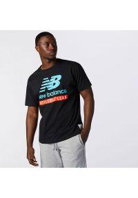 T-shirt New Balance klasyczny, z aplikacjami