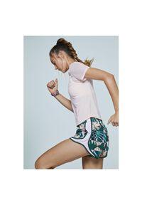 Koszulka damska do biegania Nike CJ2185. Materiał: poliester, tkanina, materiał. Długość rękawa: krótki rękaw. Technologia: Dri-Fit (Nike). Długość: krótkie