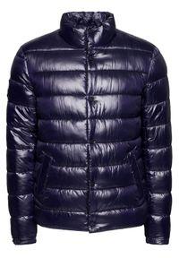 Niebieska kurtka zimowa Superdry