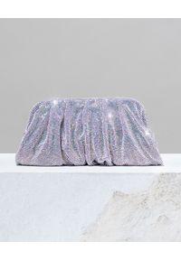 BENEDETTA BRUZZICHES - Torebka z kryształów Venus Large Lilac. Kolor: różowy, fioletowy, wielokolorowy. Styl: wizytowy. Rodzaj torebki: do ręki