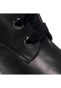 Karino - Botki KARINO - 3503/076-P Czarny/Lico. Kolor: czarny. Materiał: skóra. Szerokość cholewki: normalna. Sezon: zima, jesień. Obcas: na obcasie. Wysokość obcasa: średni