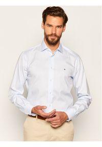 Niebieska koszula biznesowa TOMMY HILFIGER #7