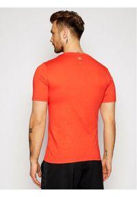 Czerwony t-shirt Calvin Klein Performance
