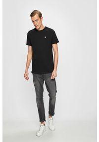 Czarny t-shirt Fila casualowy, na co dzień