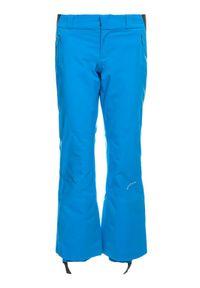 Niebieskie spodnie sportowe Spyder narciarskie