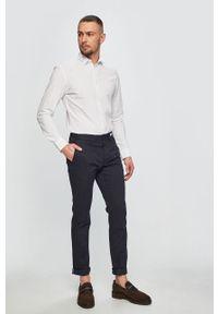 Niebieskie spodnie TOMMY HILFIGER casualowe, na co dzień
