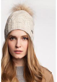 Różowa czapka zimowa PaMaMi #4