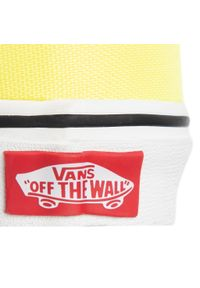 Żółte półbuty casual Vans z cholewką