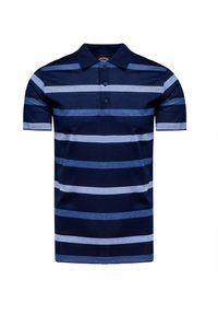 Niebieska koszulka polo Paul and Shark polo