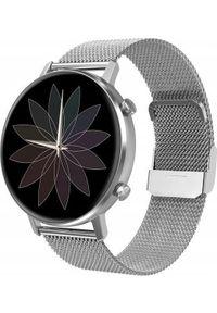 Smartwatch Bakeeley E05 Srebrny. Rodzaj zegarka: smartwatch. Kolor: srebrny
