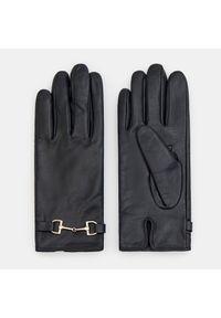 Czarne rękawiczki Mohito