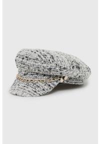 Szara czapka Liu Jo