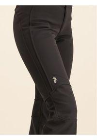 Czarne spodnie sportowe Peak Performance narciarskie #5