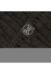 Buff - Czapka BUFF - Knitted & Fleece 120850.901.10.00 Igor Graphite. Kolor: zielony, wielokolorowy, szary. Materiał: akryl, materiał