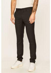 Premium by Jack&Jones - Spodnie 12141112. Kolor: czarny. Materiał: tkanina